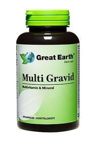 Bild på Great Earth Multi Gravid 60 kapslar