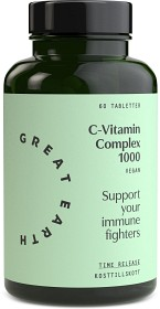 Bild på Great Earth C-vitamin Complex 1000 mg 60 tabletter