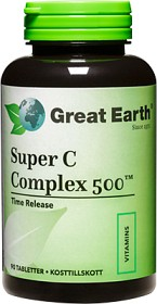 Bild på Great Earth Super C Complex 500 mg 90 tabletter
