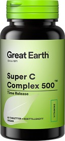 Bild på Great Earth Super C Complex 500 mg 60 tabletter