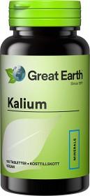 Bild på Great Earth Kalium 100 tabletter
