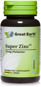 Bild på Great Earth Super Zinc 15 mg 100 tabletter