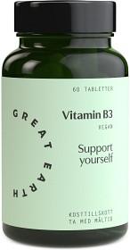 Bild på Great Earth Vitamin B3 60 tabletter