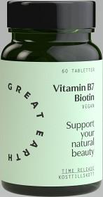 Bild på Great Earth Vitamin B7 60 tabletter
