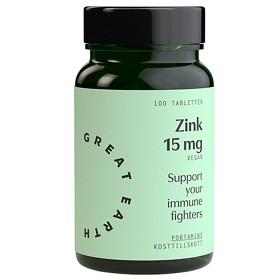 Bild på Great Earth Zink 15 mg 100 tabletter
