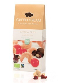Bild på Green Dream Cashew Nuts & Cranberries 85 g