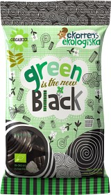Bild på Green is the new black lakrits 80 g