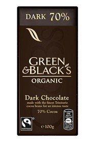 Bild på Green & Blacks Dark Chocolate 70% 100 g