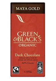 Bild på Green & Blacks Maya Gold Dark Chocolate 100 g