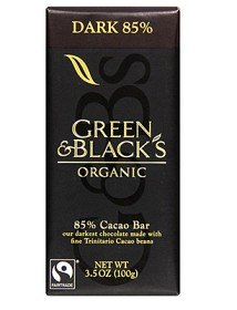 Bild på Green & Blacks Dark Chocolate 85% 100 g