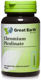 Bild på Great Earth Chromium Picolinate 100 tabletter
