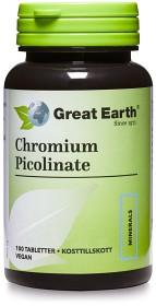 Bild på Great Earth Chromium Picolinate 100 tabletter