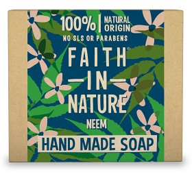 Bild på Faith In Nature Hand Made Soap Hemp 100 g