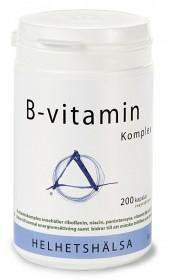Bild på Helhetshälsa B-vitamin Komplex 200 kapslar