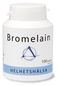 Bild på Helhetshälsa Bromelain 100 kapslar