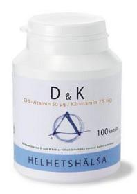 Bild på Helhetshälsa D & K 100 kapslar