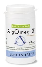 Bild på Helhetshälsa Kallpressad AlgOmega3 60 kapslar