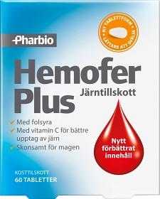 Bild på Hemofer Plus 60 tabletter