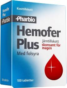 Bild på Hemofer Plus 100 tabletter