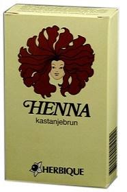 Bild på Herbique Henna kastanjebrun 125 g