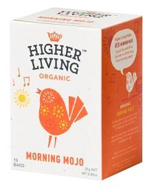 Bild på Higher Living Morning Mojo 15 tepåsar