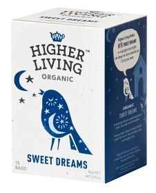 Bild på Higher Living Sweet Dreams 15 tepåsar