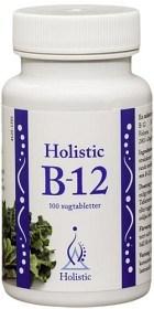 Bild på Holistic B-12 sugtablett 100 st