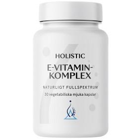 Bild på Holistic E-vitaminkomplex 30 kapslar