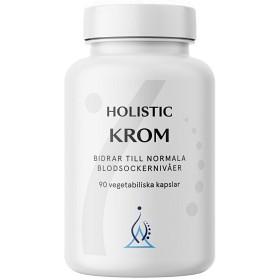 Bild på Holistic Krom 200 µg 90 kapslar