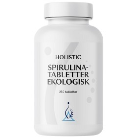 Bild på Holistic Spirulinatabletter ekologisk 250 tabletter
