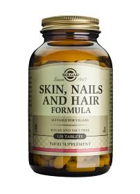 Bild på Solgar Skin Nails & Hair 120 tabletter