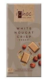 Bild på iChoc White Nougat Crisp 80 g