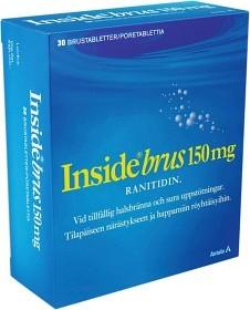 Bild på Inside Brus, brustablett 150 mg 30 st
