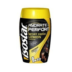 Bild på Isostar Hydrate & Perform Sport Drink Lemon 400 g