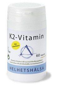 Bild på Helhetshälsa K2-vitamin 60 kapslar
