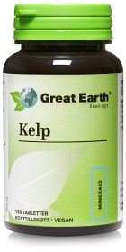 Bild på Great Earth Kelp 225 mkg 150 tabletter