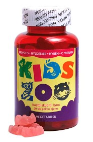 Bild på KidsZoo Propolis + Fläder + Vitamin C 60 tuggtabletter