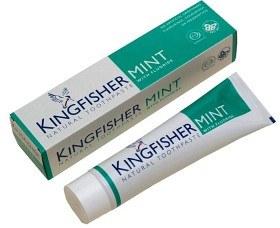 Bild på Kingfisher Mint med fluor 100 ml