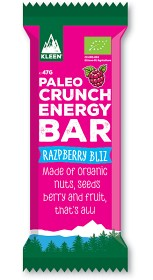 Bild på KLEEN Paleo Crunch Energy Bar Razpberry Bliz 47g