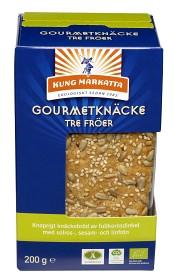 Bild på Kung Markatta Gourmetknäcke Tre Fröer 200 g