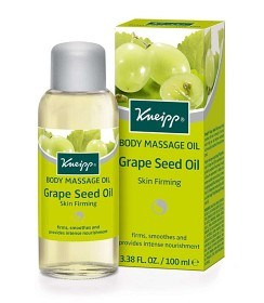 Bild på Kneipp Massage Oil Grape Seed Oil 100 ml