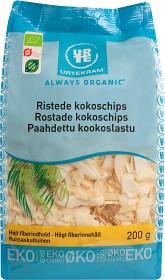 Bild på Urtekram Kokoschips rostade 200 g