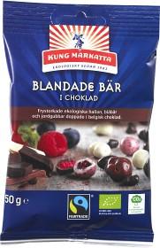 Bild på Kung Markatta Blandade Bär i Choklad 50 g