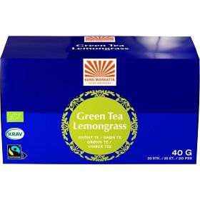 Bild på Kung Markatta Grönt te med citrongräs 20 tepåsar