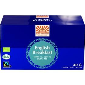 Bild på Kung Markatta English Breakfast 20 tepåsar