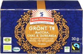 Bild på Kung Markatta Grönt Te Matcha, Chai & Gurkmeja 20 p