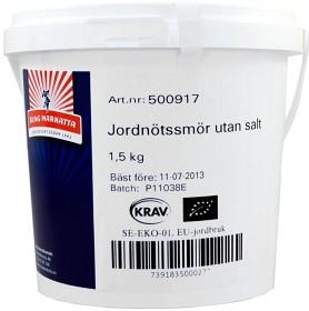 Bild på Kung Markatta Jordnötssmör utan salt KRAV 1,5 kg