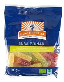 Bild på Kung Markatta Sura Pinnar 100 g