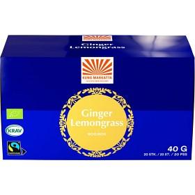 Bild på Kung Markatta Te Rooibos Ingefära Citrongräs 20 tepåsar