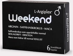 Bild på L-Argiplex Weekend 6 kapslar